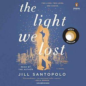 The Light We Lost audiobook cover art