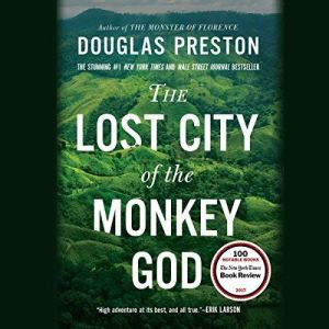 The Lost City of the Monkey God audiobook cover art