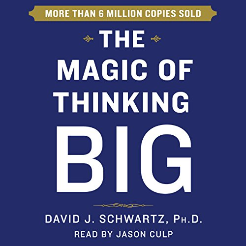 The Magic of Thinking Big audiobook cover art