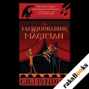 The Masquerading Magician audiobook cover art