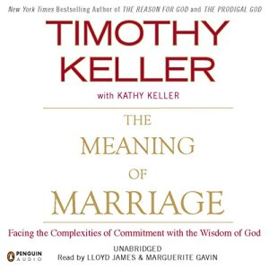 The Meaning of Marriage audiobook cover art