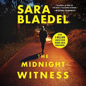 The Midnight Witness audiobook cover art