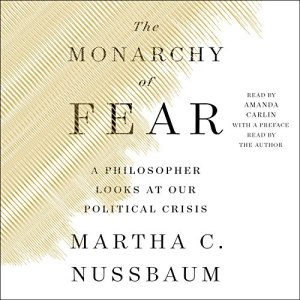 The Monarchy of Fear audiobook cover art