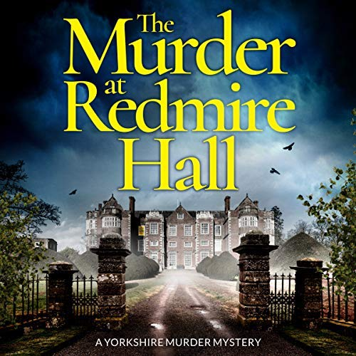 The Murder at Redmire Hall audiobook cover art