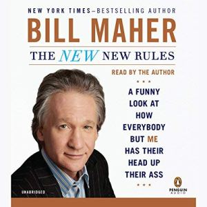 The New New Rules audiobook cover art