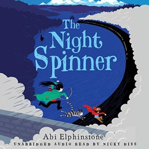 The Night Spinner audiobook cover art