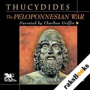 The Peloponnesian War audiobook cover art
