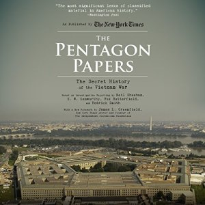 The Pentagon Papers audiobook cover art
