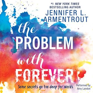 The Problem with Forever audiobook cover art
