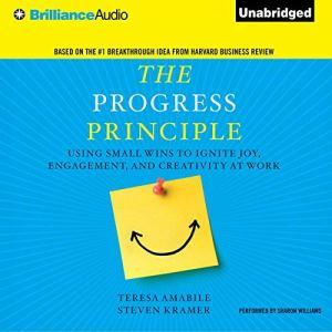 The Progress Principle audiobook cover art
