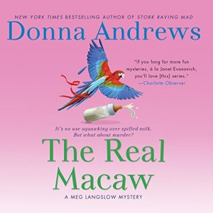 The Real Macaw audiobook cover art