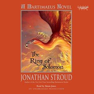 The Ring of Solomon audiobook cover art