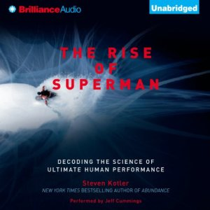 The Rise of Superman audiobook cover art