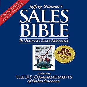 The Sales Bible audiobook cover art