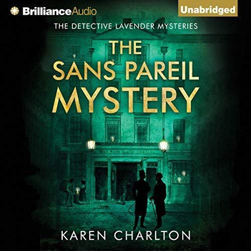The Sans Pareil Mystery audiobook cover art