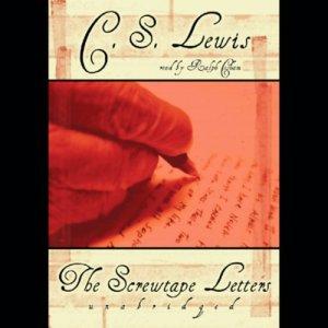 The Screwtape Letters audiobook cover art