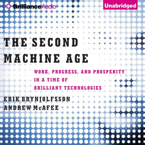 The Second Machine Age audiobook cover art