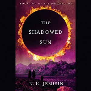The Shadowed Sun audiobook cover art
