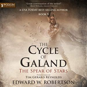 The Spear of Stars audiobook cover art
