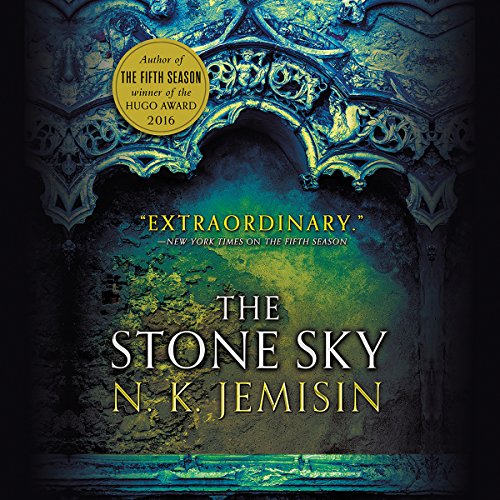 The Stone Sky audiobook cover art