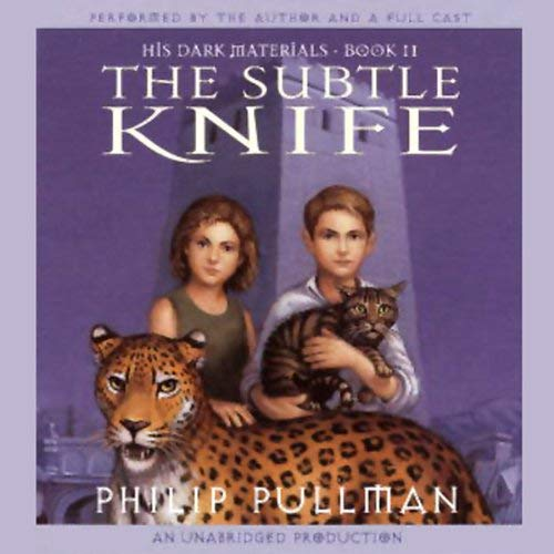 The Subtle Knife audiobook cover art