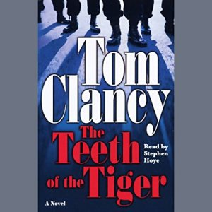 The Teeth of the Tiger audiobook cover art