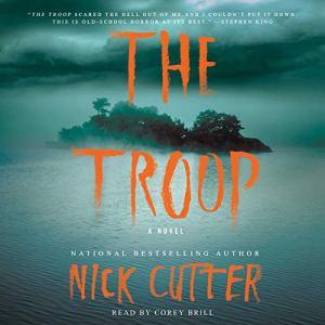 The Troop audiobook cover art
