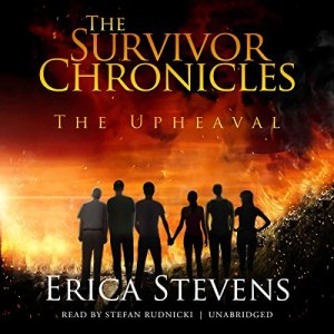 The Upheaval audiobook cover art
