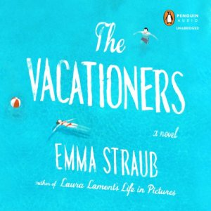 The Vacationers audiobook cover art