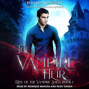 The Vampire Heir audiobook cover art