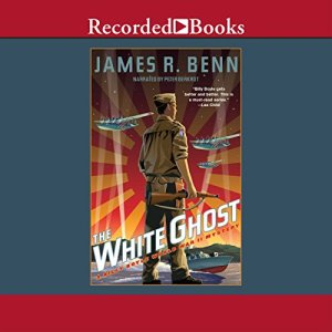 The White Ghost audiobook cover art