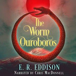 The Worm Ouroboros audiobook cover art