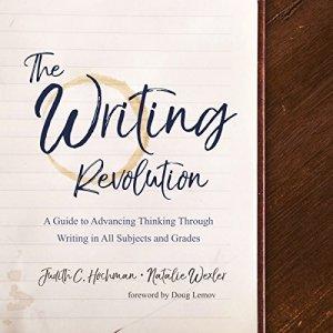 The Writing Revolution audiobook cover art