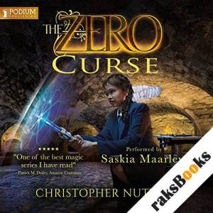 The Zero Curse audiobook cover art