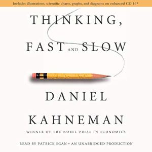 Thinking, Fast and Slow audiobook cover art
