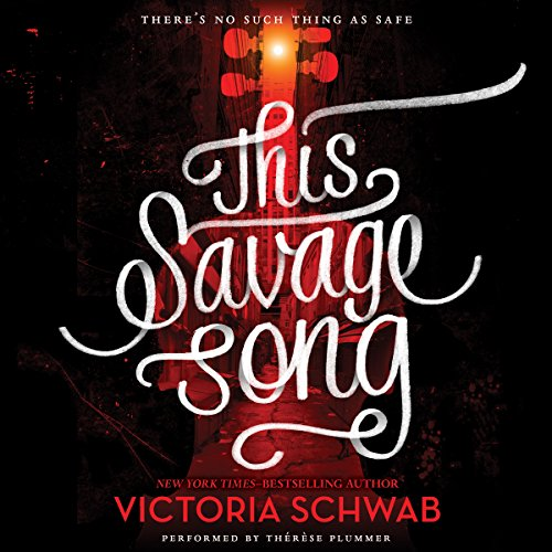 This Savage Song audiobook cover art