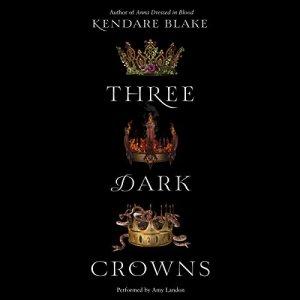 Three Dark Crowns audiobook cover art