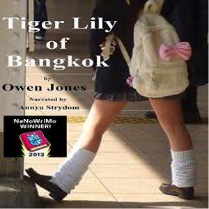 Tiger Lily of Bangkok audiobook cover art