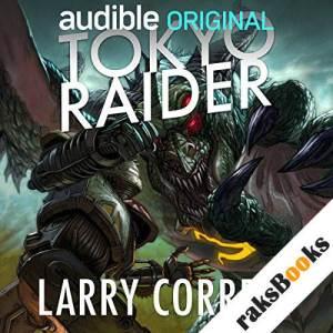 Tokyo Raider audiobook cover art