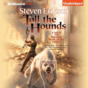 Toll the Hounds audiobook cover art