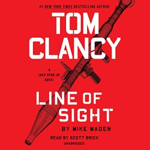 Tom Clancy Line of Sight audiobook cover art