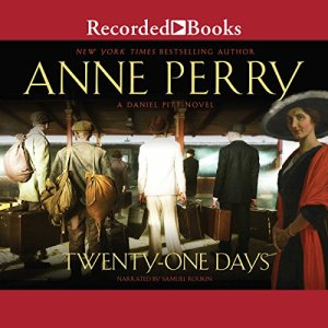 Twenty-One Days audiobook cover art