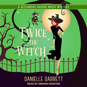 Twice the Witch audiobook cover art
