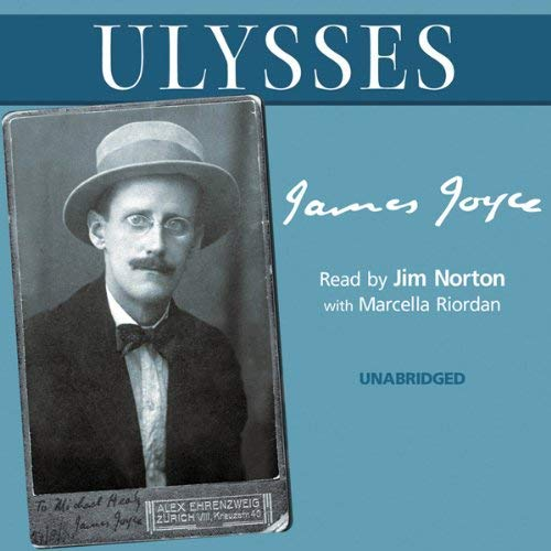 Ulysses audiobook cover art