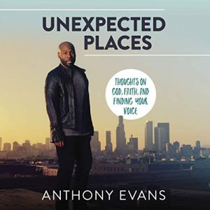 Unexpected Places audiobook cover art