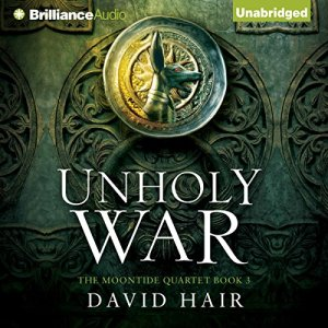 Unholy War audiobook cover art