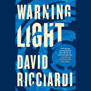 Warning Light audiobook cover art