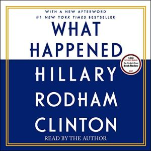 What Happened audiobook cover art