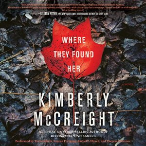 Where They Found Her audiobook cover art