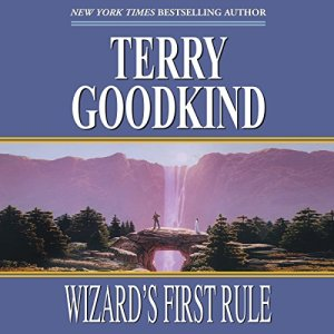 Wizard's First Rule audiobook cover art